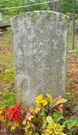 MOORE (VETERAN WWII), AARON E - Madison County, Alabama | AARON E MOORE (VETERAN WWII) - Alabama Gravestone Photos