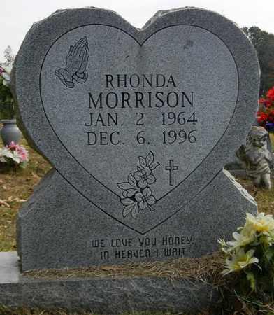 MORRISON, RHONDA - Madison County, Alabama | RHONDA MORRISON - Alabama Gravestone Photos