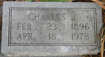 MULLINS (CLOSEUP), CHARLES J - Madison County, Alabama | CHARLES J MULLINS (CLOSEUP) - Alabama Gravestone Photos