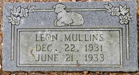 MULLINS, LEON - Madison County, Alabama | LEON MULLINS - Alabama Gravestone Photos