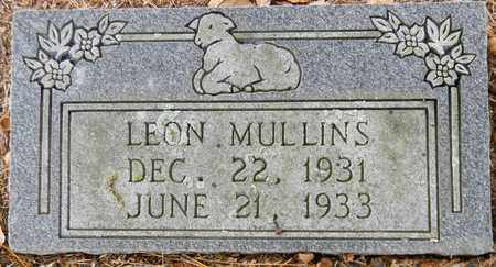 MULLINS, LEON - Madison County, Alabama | LEON MULLINS - Alabama Gravestone Photos
