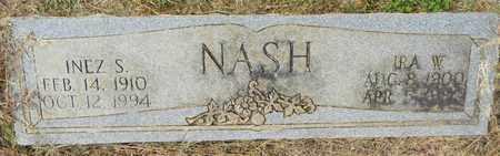 NASH, INEZ S - Madison County, Alabama | INEZ S NASH - Alabama Gravestone Photos
