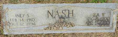 NASH, IRA W - Madison County, Alabama | IRA W NASH - Alabama Gravestone Photos