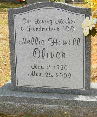 HOWELL OLIVER, NELLIE - Madison County, Alabama | NELLIE HOWELL OLIVER - Alabama Gravestone Photos