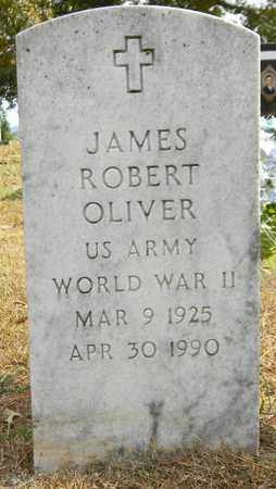 OLIVER (VETERAN WWII), JAMES ROBERT - Madison County, Alabama | JAMES ROBERT OLIVER (VETERAN WWII) - Alabama Gravestone Photos