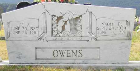 OWENS, NAOMI D - Madison County, Alabama | NAOMI D OWENS - Alabama Gravestone Photos