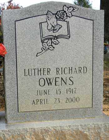 OWENS, LUTHER RICHARD - Madison County, Alabama | LUTHER RICHARD OWENS - Alabama Gravestone Photos