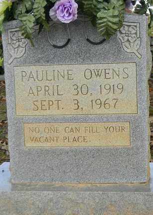 OWENS, PAULINE - Madison County, Alabama | PAULINE OWENS - Alabama Gravestone Photos