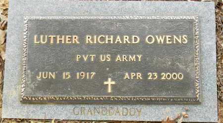 OWENS (VETERAN), LUTHER RICHARD - Madison County, Alabama | LUTHER RICHARD OWENS (VETERAN) - Alabama Gravestone Photos