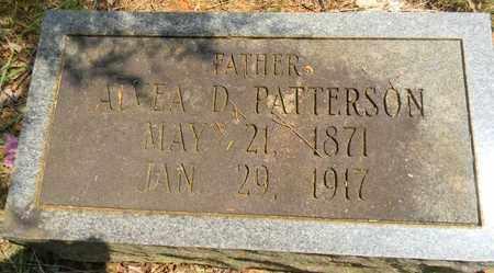 PATTERSON, ALVEA D - Madison County, Alabama | ALVEA D PATTERSON - Alabama Gravestone Photos