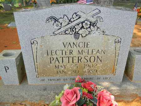 PATTERSON, VANCIE - Madison County, Alabama | VANCIE PATTERSON - Alabama Gravestone Photos