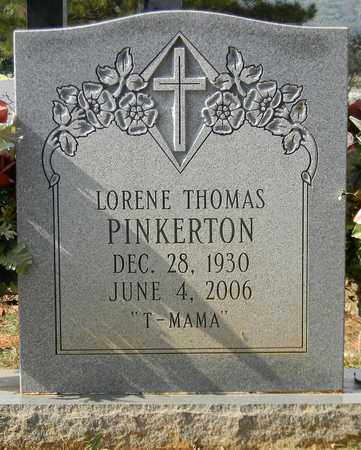 THOMAS PINKERTON, LORENE - Madison County, Alabama | LORENE THOMAS PINKERTON - Alabama Gravestone Photos
