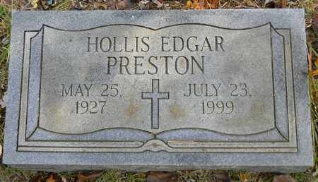 PRESTON, HOLLIS EDGAR - Madison County, Alabama | HOLLIS EDGAR PRESTON - Alabama Gravestone Photos