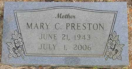 PRESTON, MARY C - Madison County, Alabama | MARY C PRESTON - Alabama Gravestone Photos