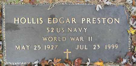 PRESTON (VETERAN WWII), HOLLIS EDGAR - Madison County, Alabama | HOLLIS EDGAR PRESTON (VETERAN WWII) - Alabama Gravestone Photos