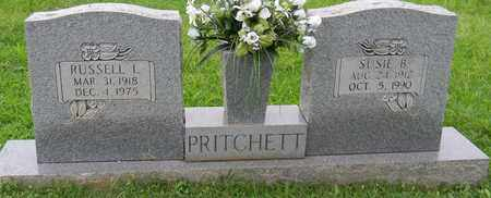 PRITCHETT, RUSSELL L - Madison County, Alabama | RUSSELL L PRITCHETT - Alabama Gravestone Photos