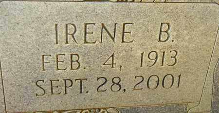 PRUITT (CLOSEUP), IRENE B - Madison County, Alabama | IRENE B PRUITT (CLOSEUP) - Alabama Gravestone Photos