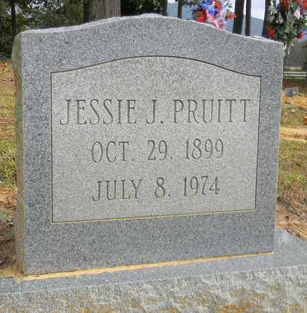 PRUITT, JESSIE J - Madison County, Alabama | JESSIE J PRUITT - Alabama Gravestone Photos