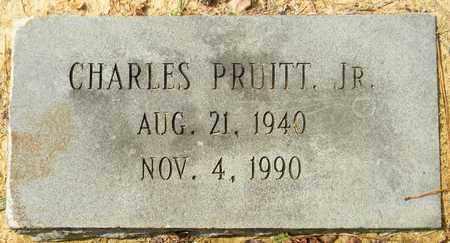 PRUITT, JR, CHARLES - Madison County, Alabama | CHARLES PRUITT, JR - Alabama Gravestone Photos