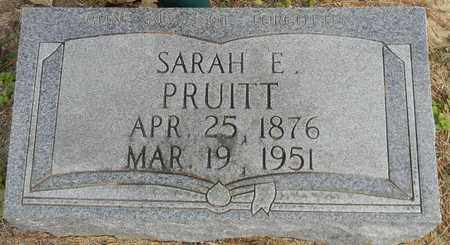 PRUITT, SARAH E - Madison County, Alabama | SARAH E PRUITT - Alabama Gravestone Photos