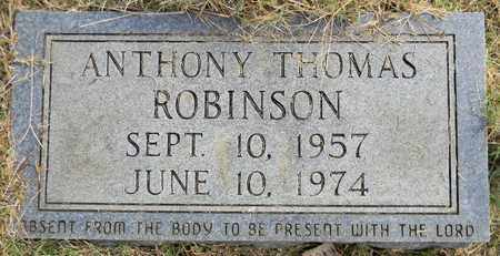 ROBINSON, ANTHONY THOMAS - Madison County, Alabama | ANTHONY THOMAS ROBINSON - Alabama Gravestone Photos