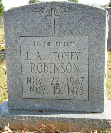ROBINSON, J A - Madison County, Alabama | J A ROBINSON - Alabama Gravestone Photos