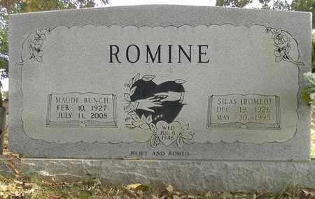 BUNCH ROMINE, MAUDE - Madison County, Alabama | MAUDE BUNCH ROMINE - Alabama Gravestone Photos