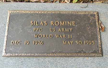 ROMINE (VETERAN WWII), SILAS - Madison County, Alabama | SILAS ROMINE (VETERAN WWII) - Alabama Gravestone Photos