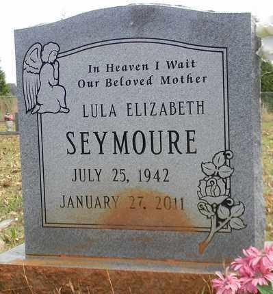 SEYMOURE, LULA ELIZABETH - Madison County, Alabama | LULA ELIZABETH SEYMOURE - Alabama Gravestone Photos