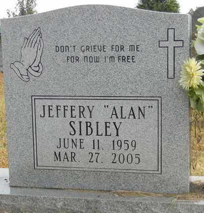 SIBLEY, JEFFERY - Madison County, Alabama | JEFFERY SIBLEY - Alabama Gravestone Photos