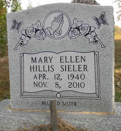 HILLIS SIELER, MARY ELLEN - Madison County, Alabama | MARY ELLEN HILLIS SIELER - Alabama Gravestone Photos