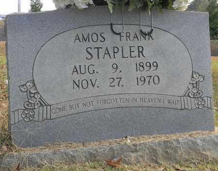STAPLER, AMOS FRANK - Madison County, Alabama   AMOS FRANK STAPLER - Alabama Gravestone Photos