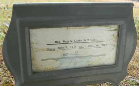 SULLIVAN (FUNERAL HOME MARKER), MAGGIE LEOLA - Madison County, Alabama   MAGGIE LEOLA SULLIVAN (FUNERAL HOME MARKER) - Alabama Gravestone Photos