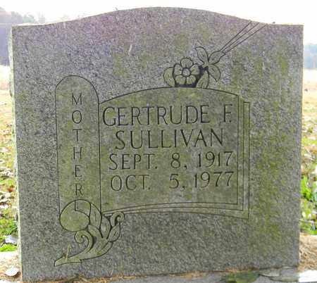 SULLIVAN, GERTRUDE F - Madison County, Alabama | GERTRUDE F SULLIVAN - Alabama Gravestone Photos