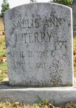 TERRY, SALLIE ANN - Madison County, Alabama | SALLIE ANN TERRY - Alabama Gravestone Photos