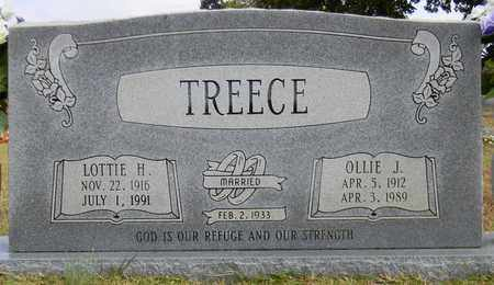 TREECE, LOTTIE H - Madison County, Alabama | LOTTIE H TREECE - Alabama Gravestone Photos