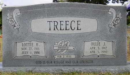 TREECE, OLLIE J - Madison County, Alabama   OLLIE J TREECE - Alabama Gravestone Photos