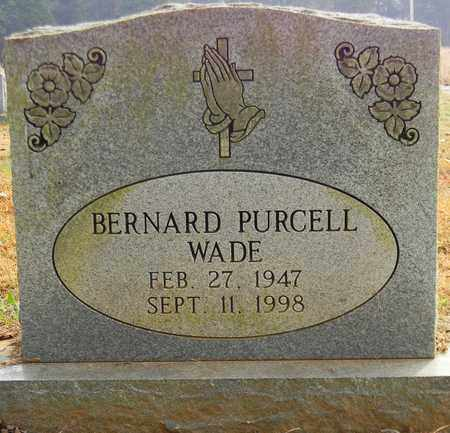 WADE, BERNARD PURCELL - Madison County, Alabama | BERNARD PURCELL WADE - Alabama Gravestone Photos