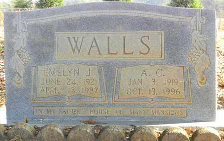 WALLS, EMELYN J - Madison County, Alabama | EMELYN J WALLS - Alabama Gravestone Photos