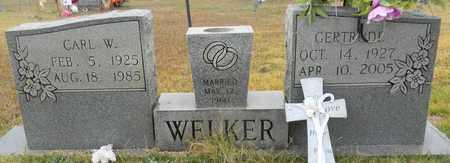 WELKER, CARL W - Madison County, Alabama | CARL W WELKER - Alabama Gravestone Photos