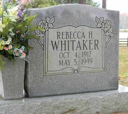 WHITAKER, REBECCA H - Madison County, Alabama | REBECCA H WHITAKER - Alabama Gravestone Photos