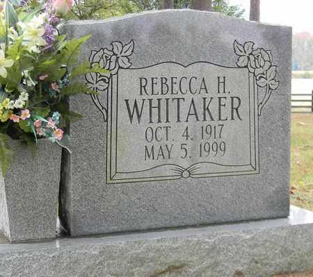 WHITAKER, REBECCA H - Madison County, Alabama | REBECCA H WHITAKER - Alabama Gravestone Photos