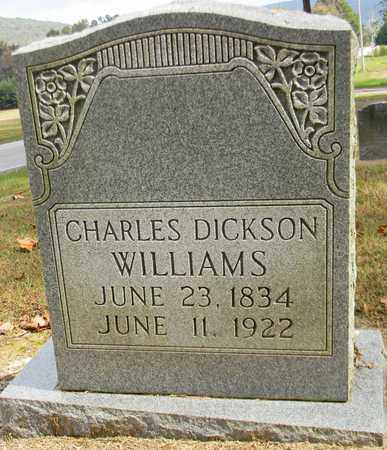 WILLIAMS, CHARLES DICKSON - Madison County, Alabama | CHARLES DICKSON WILLIAMS - Alabama Gravestone Photos