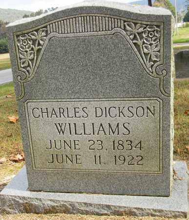 WILLIAMS, CHARLES DICKSON - Madison County, Alabama | CHARLES DICKSON WILLIAMS - Alabama Gravestone Photos