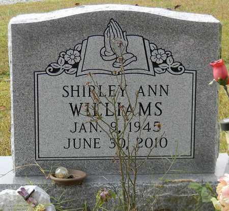 WILLIAMS, SHIRLEY ANN - Madison County, Alabama | SHIRLEY ANN WILLIAMS - Alabama Gravestone Photos
