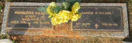 WILSON (VETERAN WWII), POINDEXTER - Madison County, Alabama   POINDEXTER WILSON (VETERAN WWII) - Alabama Gravestone Photos