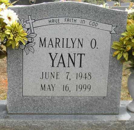 YANT, MARILYN O - Madison County, Alabama | MARILYN O YANT - Alabama Gravestone Photos
