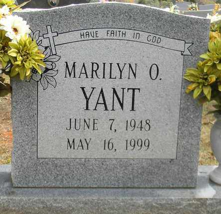 YANT, MARILYN O - Madison County, Alabama | MARILYN O YANT - Alabama Gravestone Photos