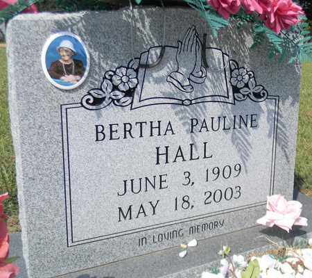 HALL, BERTHA PAULINE - Marshall County, Alabama   BERTHA PAULINE HALL - Alabama Gravestone Photos