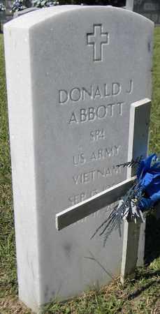 ABBOTT (VETERAN VIET), DONALD J - Marshall County, Alabama | DONALD J ABBOTT (VETERAN VIET) - Alabama Gravestone Photos